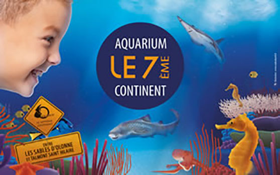 Aquarium des 7 continents en Vendée